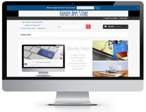 iMac handyappstore-diseño-web-alicante