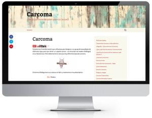 iMac Carcoma-diseño-web-alicante