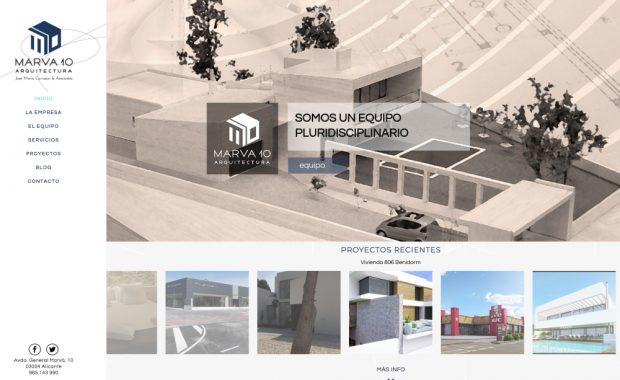 Diseño Web Estudios Arquitectura
