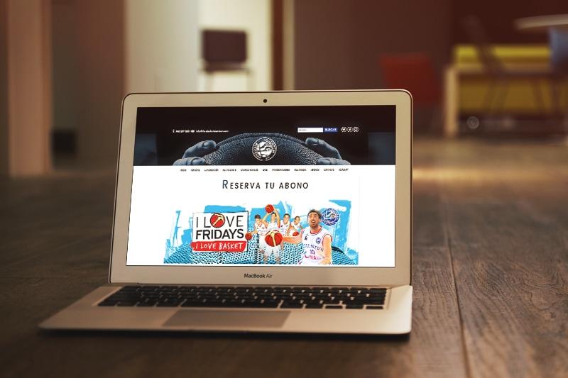 Diseño Web en Alicante para Fundación Lucentum