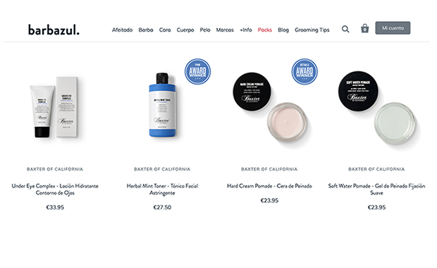 Tienda Online Shopify Barbazul